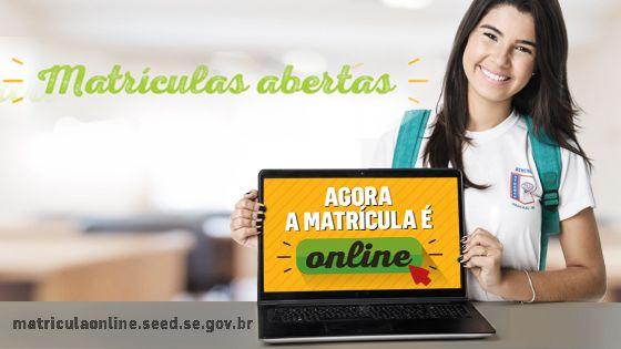 Matrícula Online SE SEED 2019