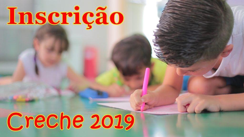 Inscrição para Creche 2019
