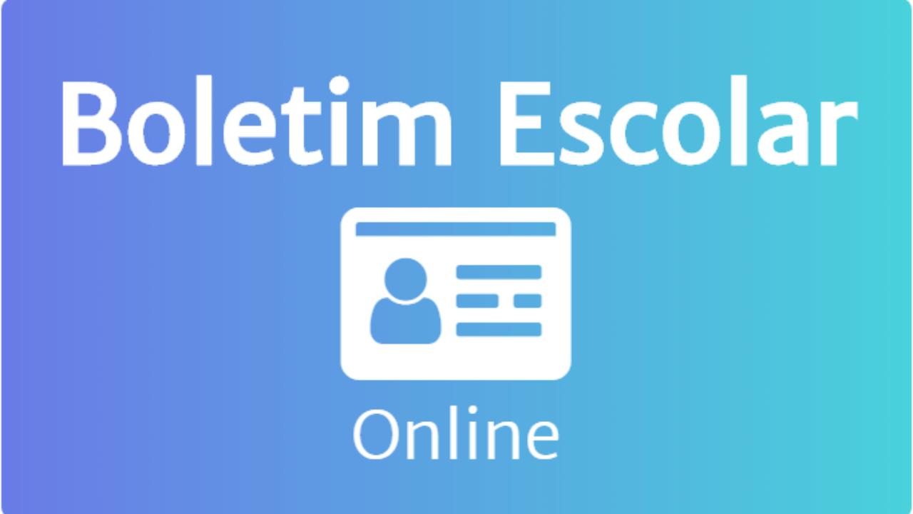 BOLETIM ESCOLAR ONLINE 2019 → Consultar notas e Resultado