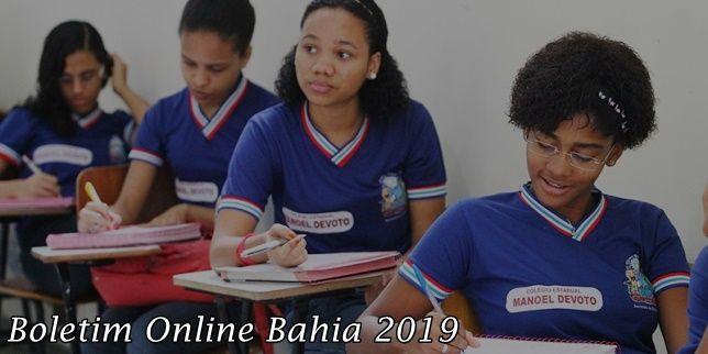 Boletim Online Bahia 2019