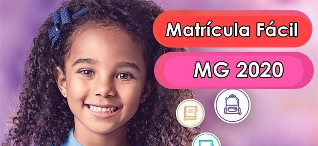 Matrícula Fácil MG 2020