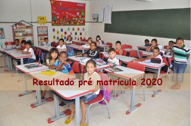 Resultado Pré Matrícula 2020