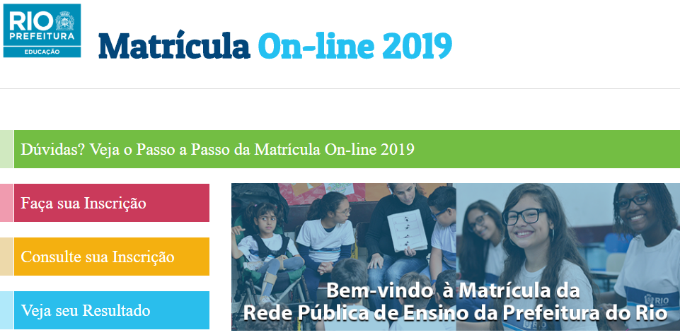 Como fazer a Matrícula Rio 2020 Online