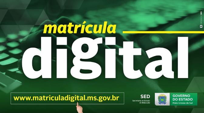 Pré Matrícula Digital 2020 MS