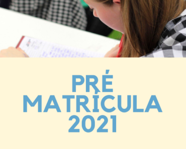 Pré Matrícula 2021